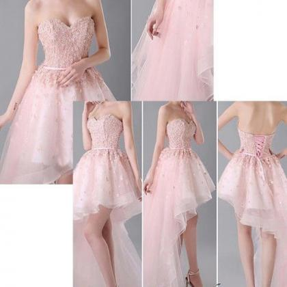 Charming party Dress,Hi-Low Prom Dr..