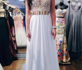 Long Prom Dress, Lac..