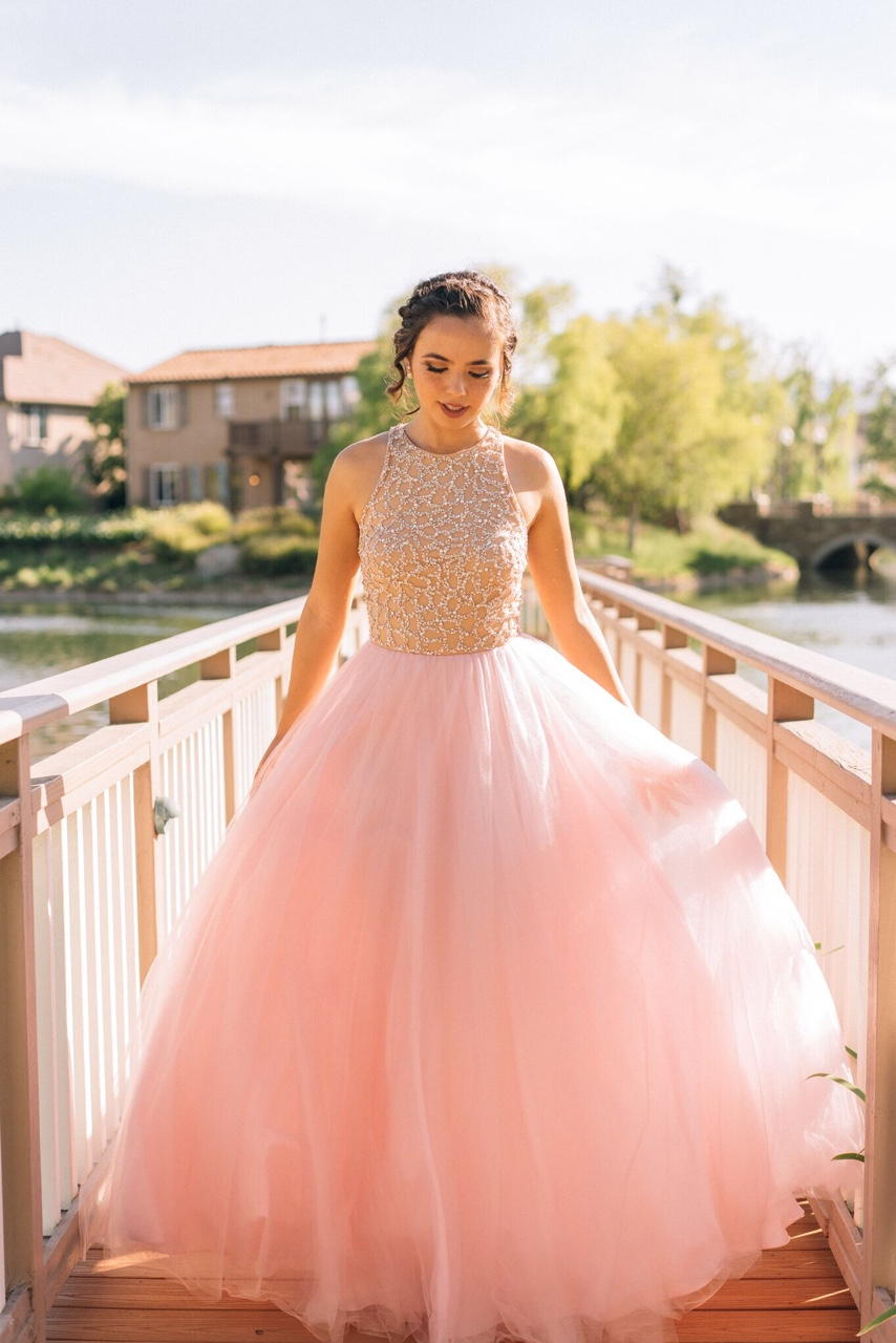 Pink Tulle Prom Dresses,Princess Prom Dress,Ball Gown Prom Gown ...