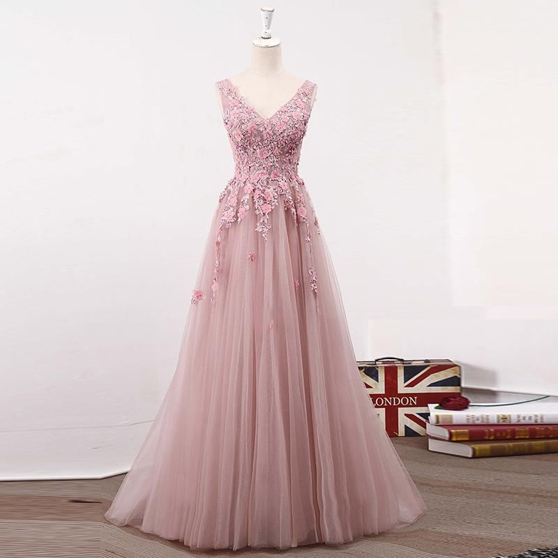 6473e73ff1f Elegant A-Line Prom Dress