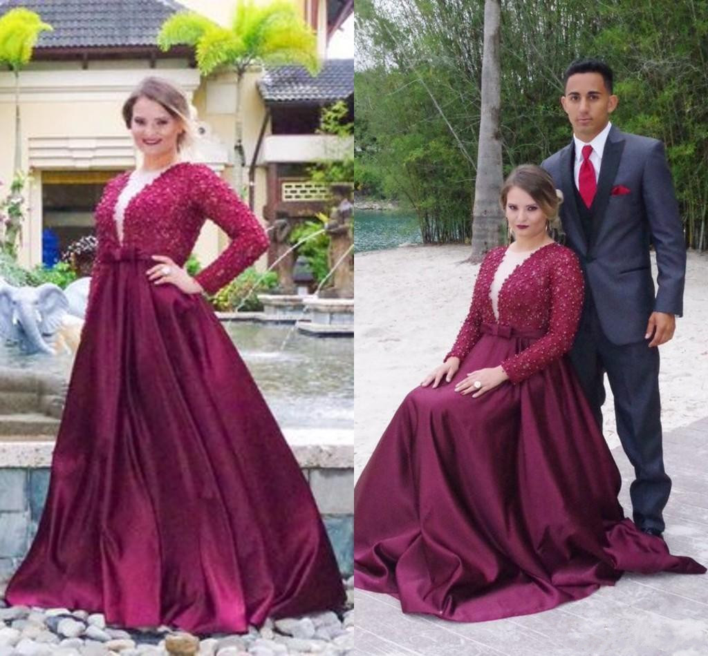 Elegant Plus Size Prom Dressespurple Prom Gownprom Dresses Long