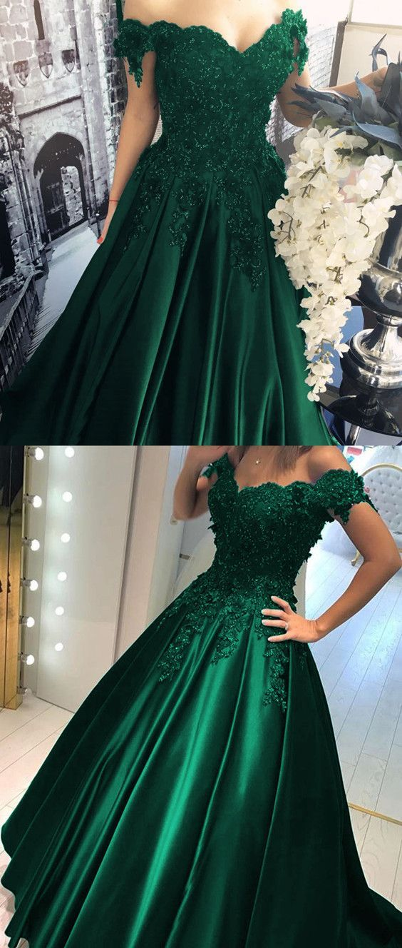 675a82d4abd4 Elegant Off Shoulder Prom Dress