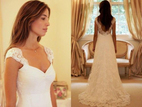 Simple wedding dress a line wedding dress white wedding dresses