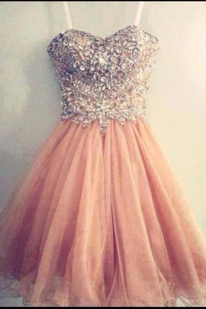 A Line Sweetheart Neck Homecoming Dresses,Short Prom Dresses, Formal Dresses, Graduation Dresses, Short Homecoming Dress, Cocktail Dress