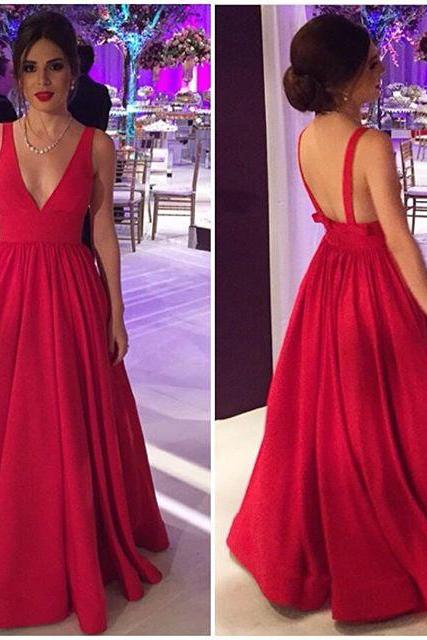 Red Prom Dresses,Charming Evening Dress,Prom Gowns,Prom Dresses,New Prom Gowns,Red Evening Gown,Backless Party Dresses