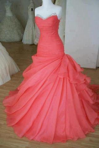 Charming Hot Pink Prom Dress,Sexy Sweetheart Evening Dress,Beading Prom Dresses