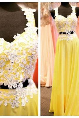 O-Neck Prom Dress, Beading Prom Dress,Sleeveless Evening Dress,Chiffon evening Prom Dress,evening dresses,Prom Dresses, Cocktail Dresses, formal dresses,Wedding guests dresses