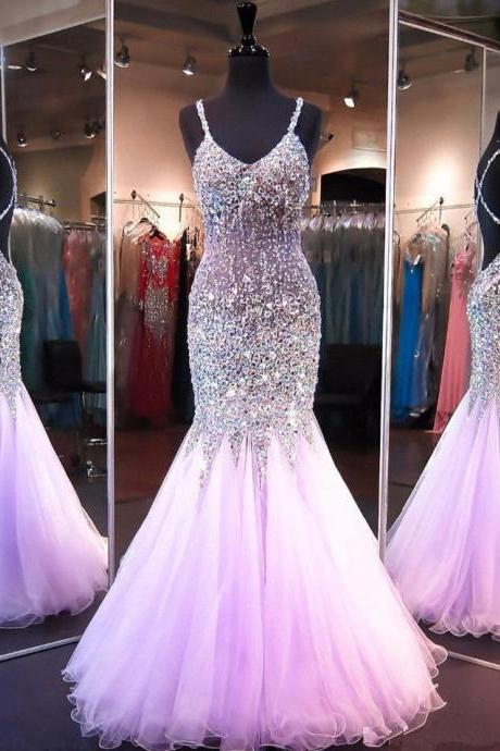 Tulle Prom Dresses,Sexy Prom Dress,Mermaid Prom Dresses,Prom Gown For Teens,Evening Dresses,Long Prom Dresses, Formal Evening Gown