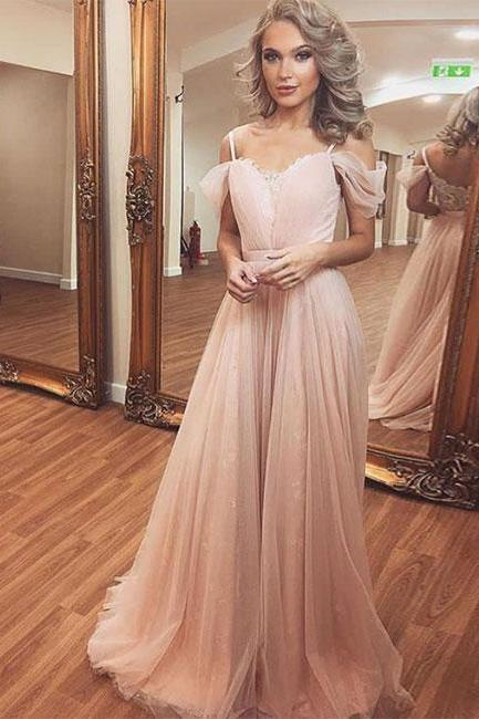 Charming Prom Dress, Sexy Prom Dresses, Tulle Long Evening Dress,Long Prom Dresses, Formal Evening Gown