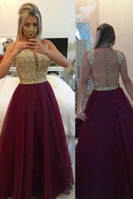 Long A-line Zipper Beading Chiffon Prom Dresses,A Line Floor Length Prom Dresses, Cheap Formal Dresses, Cheap Evening Dresses,Sexy Prom Dresses,Evening Dress