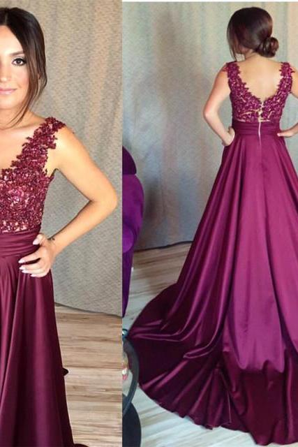 v neck bridesmaid dress,grape bridesmaid dress,mermaid formal dress,long prom dresses ,Long Evening Dress