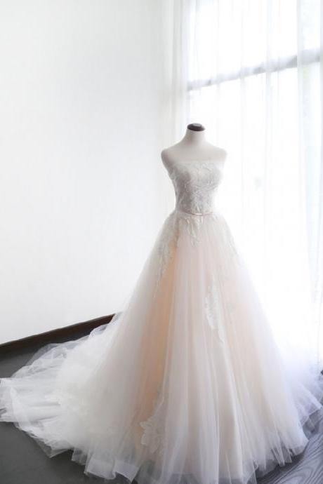 Wedding Dress,Wedding Dresses,Wedding Dress,Wedding Gown,Bridal Gown,Bride Dresses, A-line Wedding Gowns,Lace Wedding Dress,Beaded Bridal Dresses,Long Bride Dresses,Customized Made Bridal Gown