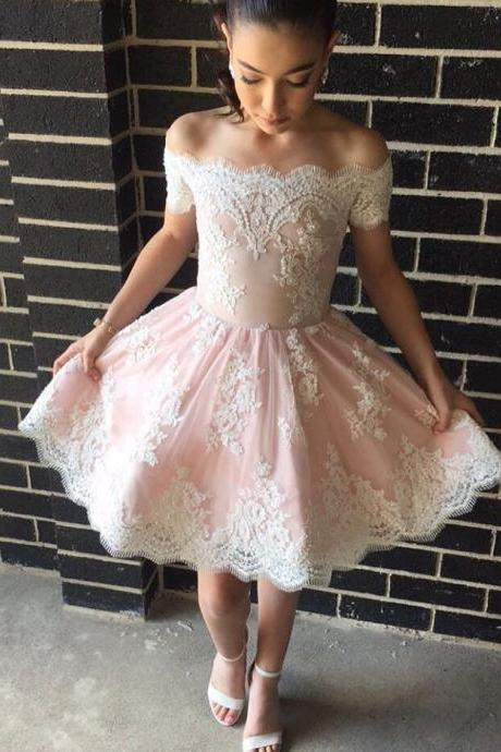 Homecoming Dresses,short prom dresses,off the shoulder dresses,women' s party dress,short prom gowns,graduation dress