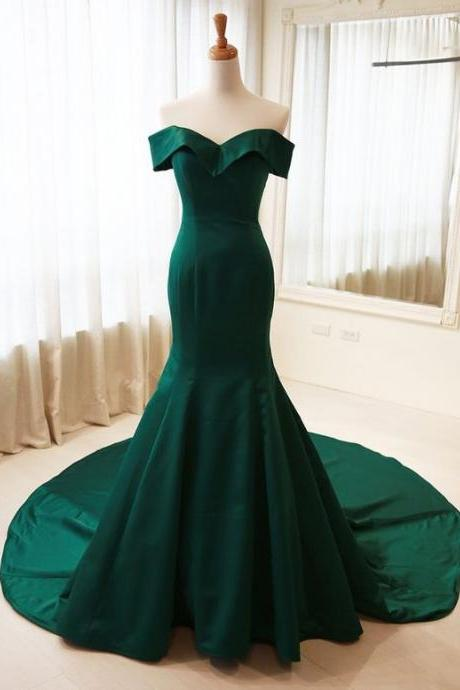 emerald green prom dress,evening gowns,long prom dresses,evening gown