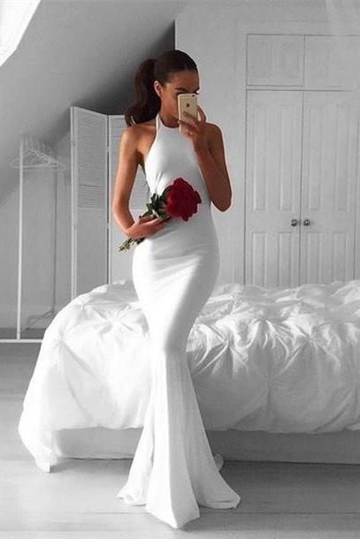 Sexy Prom Dress,White Evening Dresses,New Fashion Prom Gowns,Elegant Prom Dress,Princess Prom Dresses,White Evening Gowns,White Formal Dress,White Evening Gown