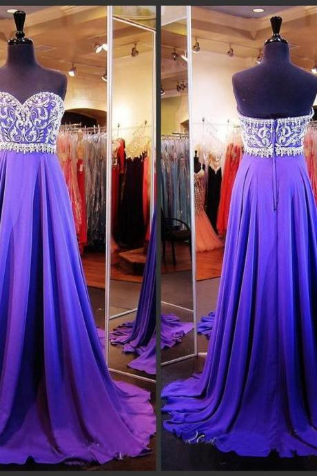 Grape Prom Dresses,Chiffon Prom Gowns,Sparkle Prom Dresses,Long Party Dresses,Grape Prom Gown,Simple Prom Dress,Elegant Evening Gowns,Modest Prom Gowns, Evening Gowns