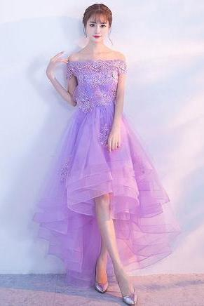 Luxury Tulle Evening Dresses ,part dress, A-line Prom Dress,Evening Dresses