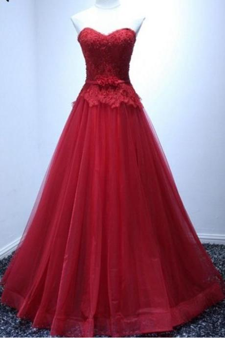 new arrival red dress gown evening gown with a formal evening dress,Evening Dresses