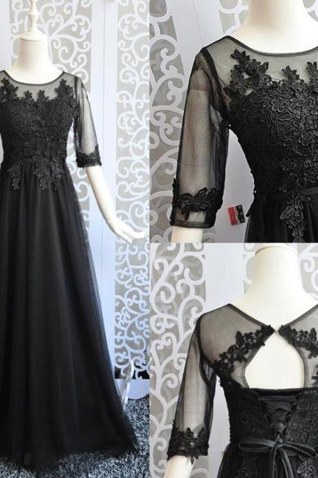 Custom Made Prom Dresses,Floor Length New Fashion Evening Dress