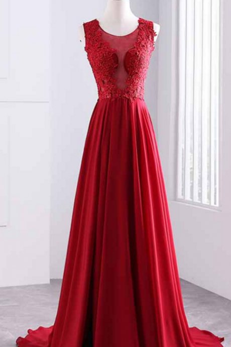 sexy prom dresses,a line evening dresses,lace appliques prom dresses,custom made prom dresses