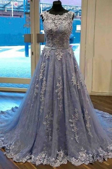 Charming Prom Dress,Appliques Prom Dress,Prom Dress,Sweetheart Evening Dress