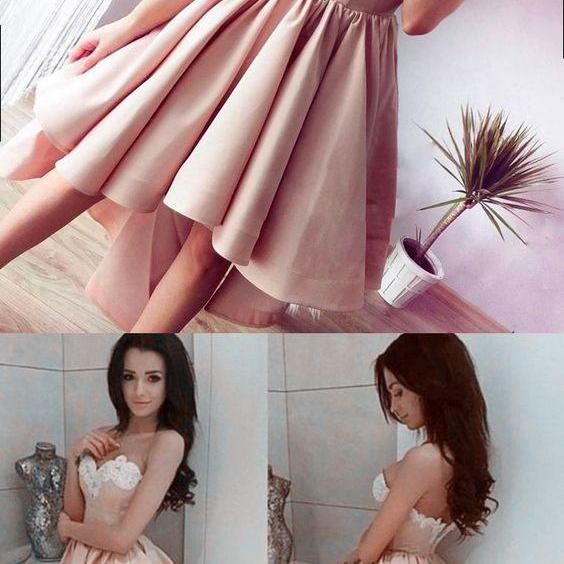 Cheap homecoming dresses,A Line Prom Dress,Short Prom Dress,Fashion Homecoming Dress,Sexy Party Dress,Custom Made Evening Dress