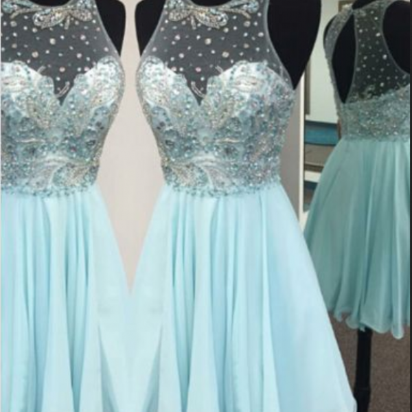 Charming Chiffon Party Dress, Homecoming Dresses,cute Homecoming Dresses, Cheap Prom Dresses, Juniors Homecoming Dresses