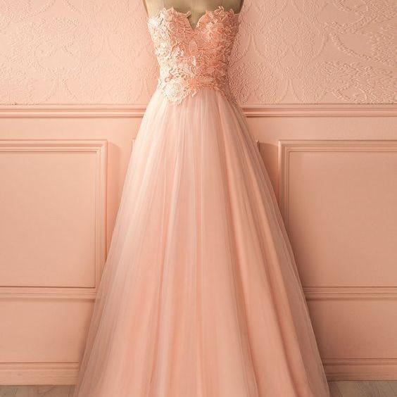 Unique Lace Prom Dress With Lace Formal Gown Tulle Evening Gowns Evening Dresses For Teens